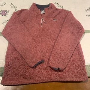 VS PINK Sherpa Pull Over